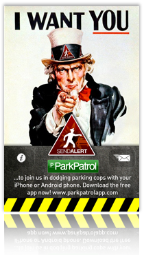 ParkPatrol I Want YouA3 Poster (22MB) A3 SIZED POSTER